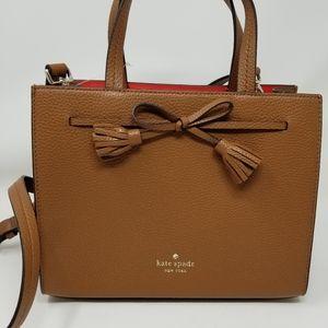 Kate Spade NEW Brown Satchel Handbag NWT